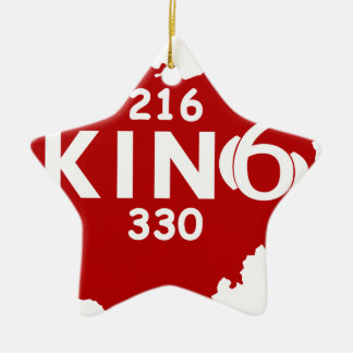 Homecoming KING GEAR Christmas Ornament