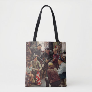 Homecoming Marine Tote Bag