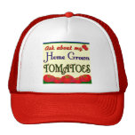 Homegrown Tomato Garden Slogan Trucker Hat