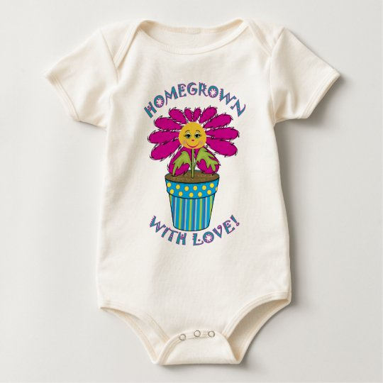 Homegrown with Love Baby Bodysuit