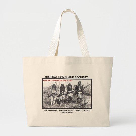 Homeland Security 1492 Large Tote Bag