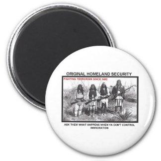 Homeland Security 1492 Magnet