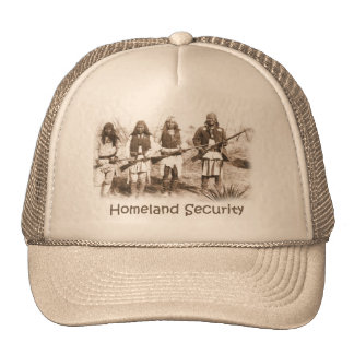 Homeland Security Apache Cap