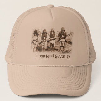 Homeland Security Apache Trucker Hat