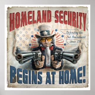 Homeland Security Begins at Home Print