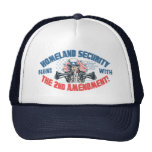 Homeland Security Begins with 2nd Amendment Mesh Hat