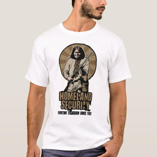 Homeland Security Customisable T-Shirt