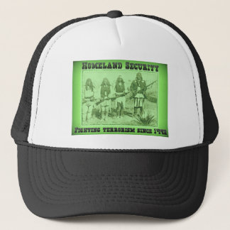 Homeland Security Fighting Terrorism Since 1492 Trucker Hat