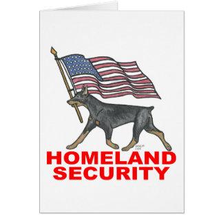 HOMELAND SECURITY HLSDP GREETING CARD