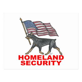 HOMELAND SECURITY HLSDP POSTCARD