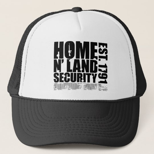 Homeland Security Trucker Hat