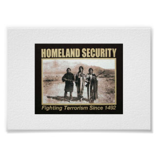 Homeland Security ~Women Poster