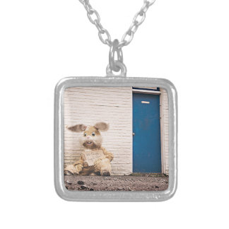 Homeless Bunny Silver Plated Necklace
