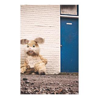 Homeless Bunny Stationery