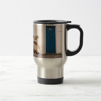 Homeless Bunny Travel Mug