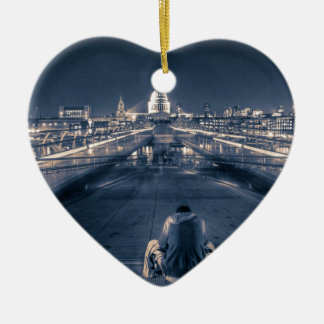 Homeless in London Christmas Ornament