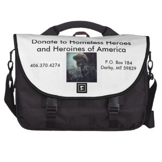 Homeless Veterans Computer Bag