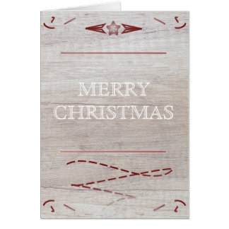 Homely Christmas Card