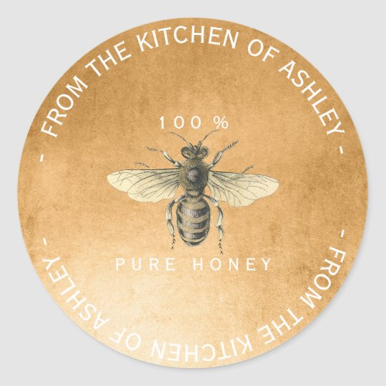 Homemade 100% Honey From Kitchen Old Gold Classic