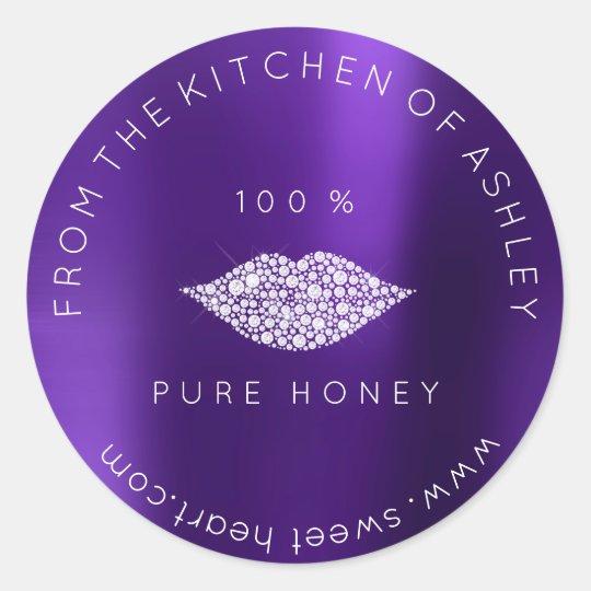 Homemade 100 % Honey From Kitchen Plum Lips