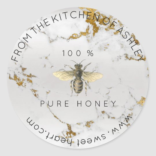 Homemade 100 % Honey From The Kitchen Marble