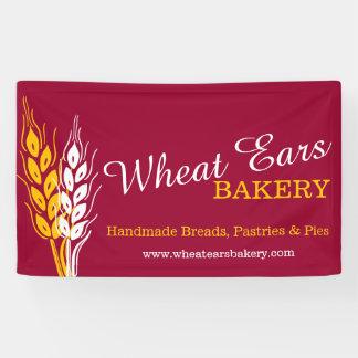 Homemade baking business signage banner
