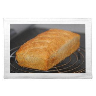 Homemade bread place mats