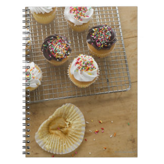 Homemade cupcakes notebook