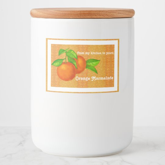 Homemade Gift of Orange Marmalade, Jelly, or Jam