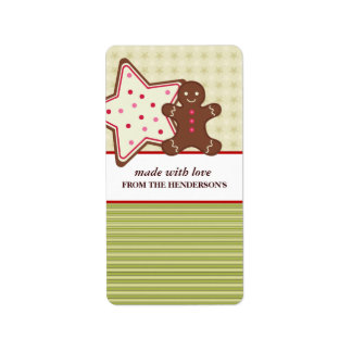 Homemade Goodies Gift Tag Stickers