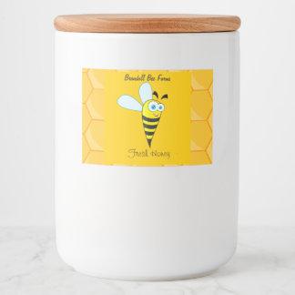 Homemade Honey Jar Labels - Custom Honey Label