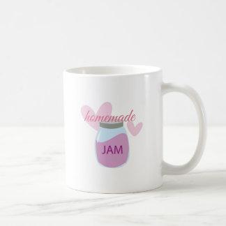 Homemade Jam Basic White Mug