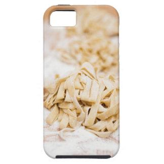 Homemade ribbon pasta, close up tough iPhone 5 case