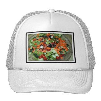 homemade salad hats