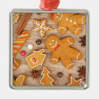 Homemade Various Christmas Gingerbread Cookies Christmas Ornament