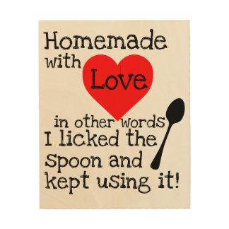 Homemade with Love Wood Wall Decor