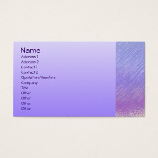 Homeminders House Sitting Business Card