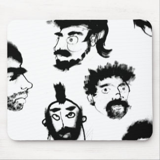 homen real men- manly mousepad