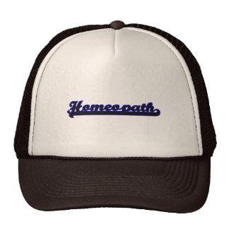 Homeopath Classic Job Design Cap