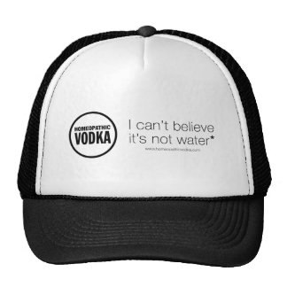 Homeopathic Vodka - I can t believe it s not water Mesh Hats