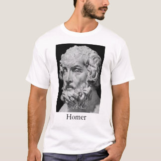 Homer and the Iliad T-Shirt