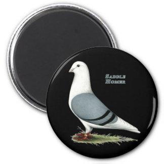 Homer Blue Saddle Magnet