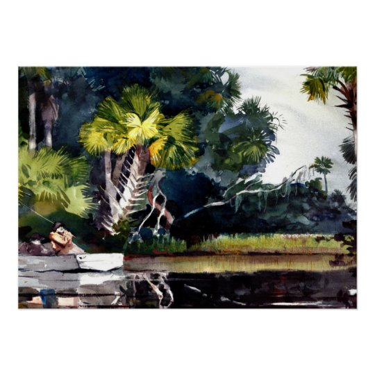 Homer - Homosassa Jungle Poster