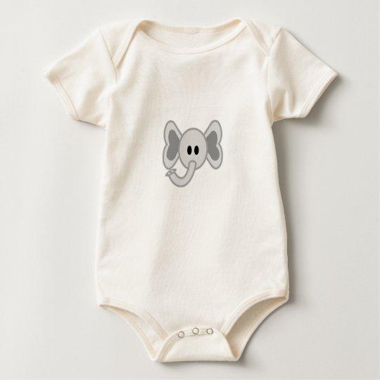 Homer the Elephant Baby Bodysuit