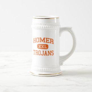 Homer - Trojans - High School - Homer Michigan Coffee Mug