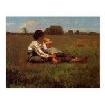 Homer Winslow Art Work Postcard