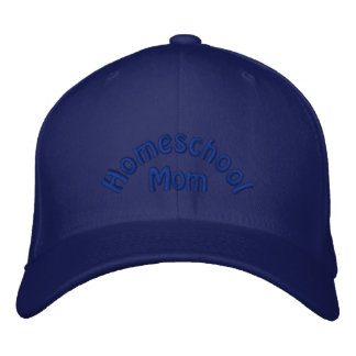 Homeschool Mom Embroidered Hat