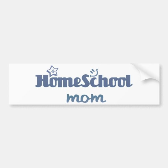 Homeschool Mum Bumper Sticker