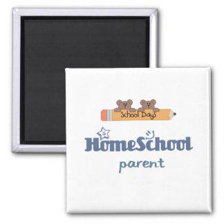 HomeSchool Parent Square Magnet