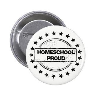 Homeschool Proud Buttons